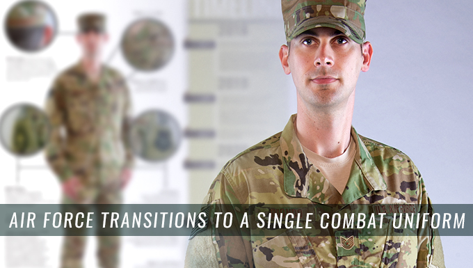 Air Force transitions to a single combat uniform
