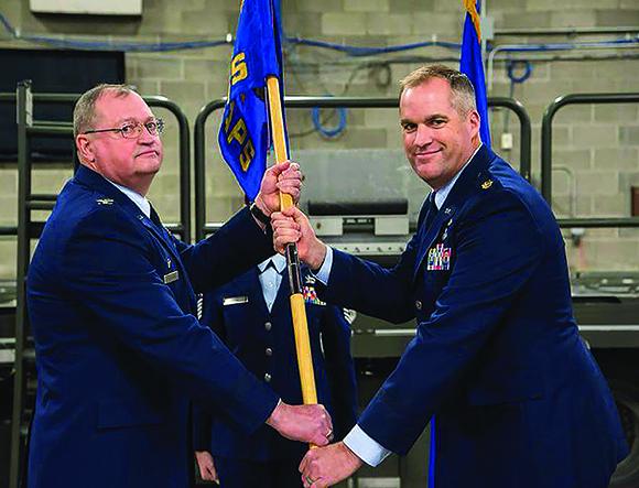 87 APS change of command
